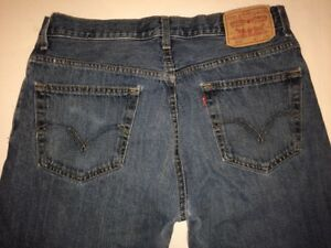 Levi-Men-039-s-559-Jeans-Denim-Straight-Fit-33-x-30