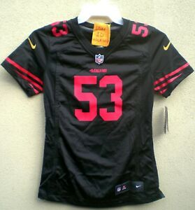 Details about NaVorro Bowman Nike Women's Black San Francisco 49ers Jersey $100 - SZ S & M