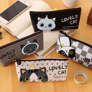 Cat-canvas-bag-pencil-case-school-stationery-box-pen-pencil-cases