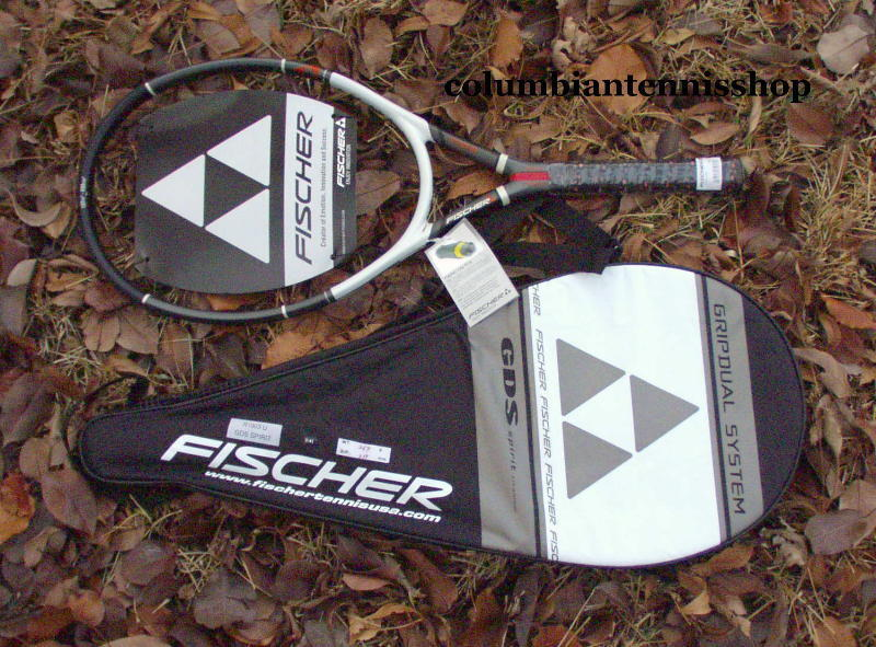 New Fischer GDS Spirit + case racquet titatium 107 3 8 1 2 5 8 similiar 2 Ti.S5
