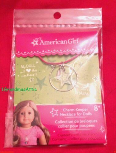 American Girl Charm Keeper Necklace Star MYAG Innerstar U Isabelle  NIP NRFP