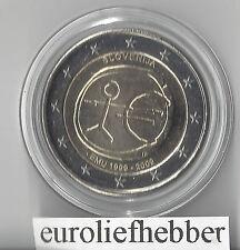 Slovenië     2 Euro 2009   EMU  10 Jaar Euro   IN STOCK