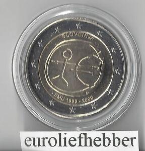 Slovenie-2-Euro-2009-EMU-10-Jaar-Euro-IN-STOCK