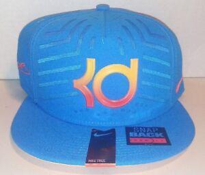 4d386c06fcfaf NEW Nike KD Kevin Durant 6 ELITE SERIES TRUE SNAPBACK baseball BLUE ...