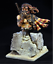 1//10 Bust Resin model kit Female warrior unpainted and unassembled