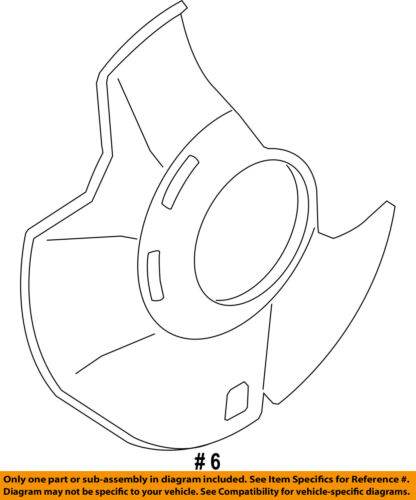 KIA OEM 11-15 Optima Front Brake-Backing Splash Dust Shield Plate 517552T850
