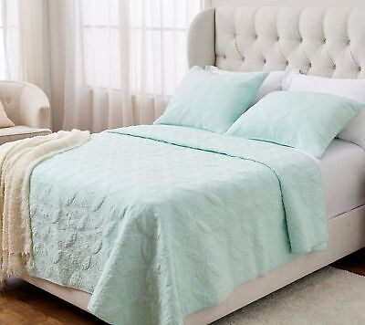 NEW Details about  /Stay by Stacy Garcia Hotel Zen Diamond Quilt Set Charcoal