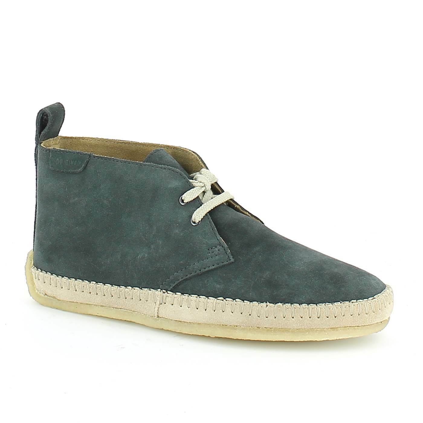 Clarsk Originals** DESERT BOOT DRILLE ** DENIM BLUE ** SUEDE ** RRP 89.99 ** BLUE 4e7a44