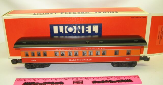 Lionel Train Madison Cars Southern Pacific Half Moon Bay