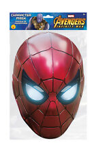 Spider-Man Iron Spider Marvel Infinity War Mask Single 2D Card Party Face Mask