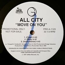 1997 - ALL CITY - MOVE ON YOU / BASIC TRAINING - GEFFEN RECORDS PROMO ONLY