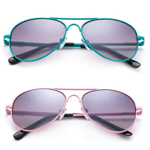 Kid/'s Horned Rim Sunglasses Spring Temple Solid Color Frame with Temple Accents!