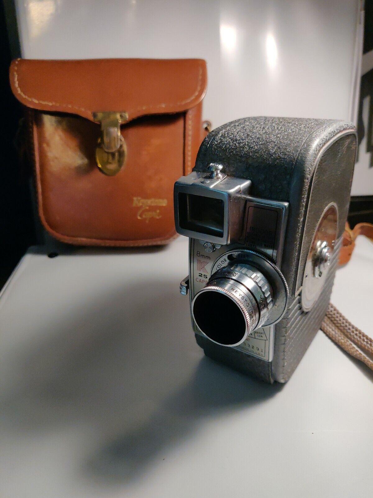 8Mm Vintage Camera keystone capri dial - o -matic vintage camera 8mm | ebay