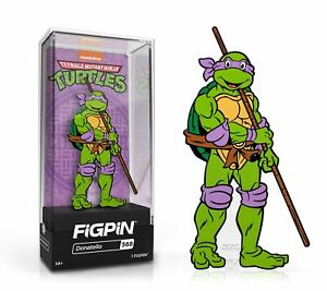 In Stock: FiGPiN Classic: TEENAGE MUTANT NINJA TURTLES TMNT - Donatello(#568)
