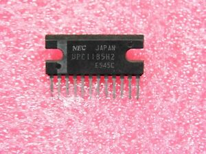 ci µPC 1185 H2 ~ ic uPC1185H2 / C1185H2 ~ SIL12 ~ 5.8W Audio Power Amplifier