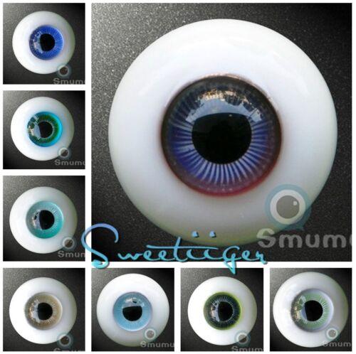 【Tii】BJD Doll A Glass Eyes 12mm.14mm,16mm.18mm BO COLORS Eyes SD MSD YOSD 1Pair