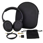 7dayshop Active Noise Cancelling Headphones With Aeroplane Kit and Travel Case