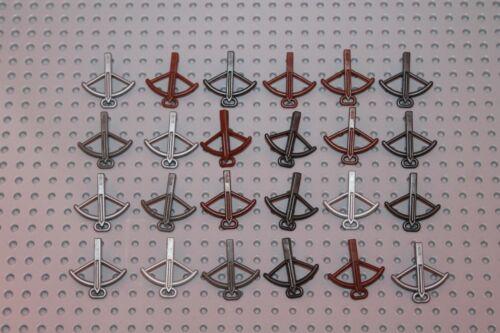 Lego Minifig Figur 24x Waffen weapon Armbrust Ritter castle