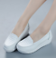 thumbnail 2 - Women Wedge Pumps Heel Work Flats Nurse Loafers Round Toe Oxfords Nursing Shoes