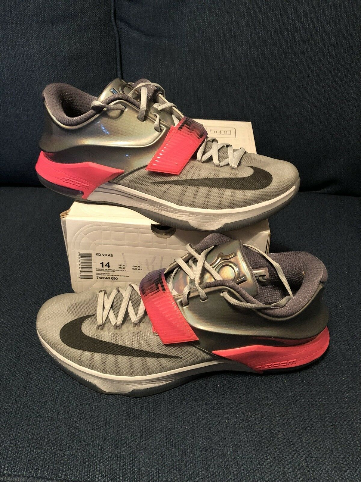 Nike KD 7 All Star Size 14