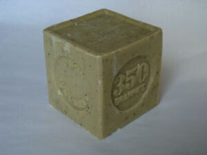 French-Marius-Fabre-Marseille-Soap-350g-Cube-Shaped-Soap-Verbena-Flower