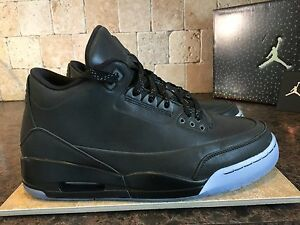 d96bd898c1df Details about JORDAN 5LAB3 SHOES MEN S SZ 9 631603 010 BLACK   BLACK CLEAR  EUC