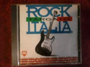 COMPILATION-ROCK-TARGATO-ITALIA-CSI-LITFIBA-CD-TIMBRO-SIAE-ROSSO-A-SECCO