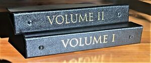 2-VOLUME-RISE-amp-FALL-ROME-COIN-COLLECTION-14-EMPERORS-INFO-TERRITORY-MAPS