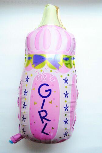 XXL Baby Flasche Mädchen Junge Helium Folienballons Geburt Luftballons balloon