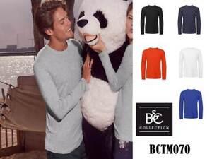 Lunga B amp;c 070 T Maglietta Inspire Personalizzabile shirt Manica Uomo x7a6qU8