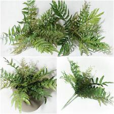 Grasbusch künstlicher Farn Busch 25 cm Dekogras Kunstpflanzen Kunstpflanze