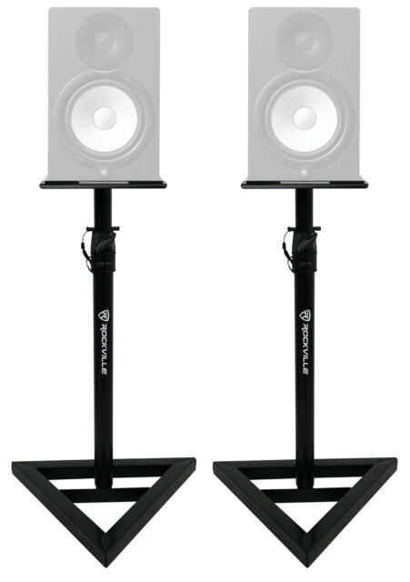 Rockville Adjustable Studio Monitor Speaker Stands for Yamaha HS10 Monitors  - Set of 10