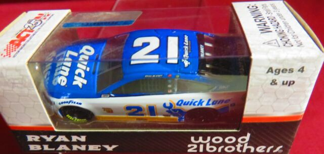 Ryan Blaney 2017 Lionel//Action #21 Quick Lane Ford Fusion 1//64 FREE SHIP