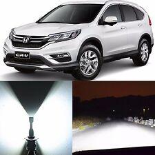 Alla Lighting Headlight 9003 White LED Bulb for 07~14 92~04 Honda CR-V ~03 Civic