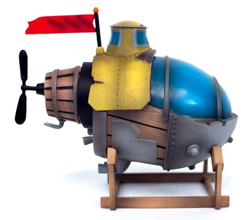 Insomniac Games 2016 Song Of The Deep S.S. Eirnin Submarine PVC Statue NEW MIB