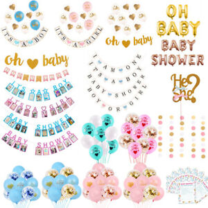 Baby-Shower-paillettes-or-Lettre-Banniere-Ballon-Gender-Reveal-Hanging-Party-Decor