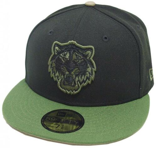 NEW Era Detroit Tigers BLACK RIFLE GREEN CAMO CAP 59 FIFTY Fitted Limited Edition