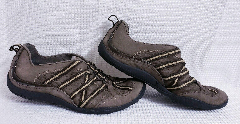 Privo by Clark's Brown Slip On Sneakers sz 7.5 Women's