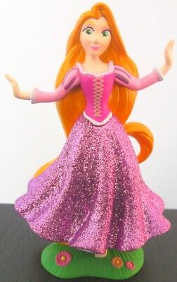 Disney Store PRINCESS RAPUNZEL  FIGURINE Glitter NEW