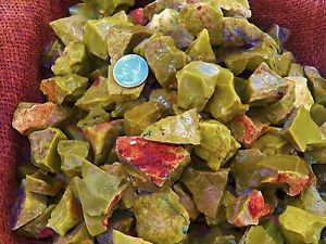 3000-Carat-Lots-of-Green-Opal-Rough-Plus-a-FREE-Faceted-Gemstone