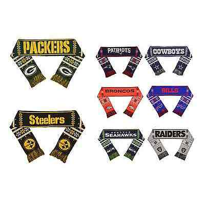 NFL Football Team Logo LIGHT UP Scarf - Pick Your Team!