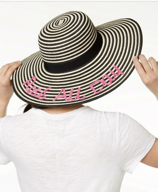 8b1dcae9e2f70a August Hat Company Womens Rose All Day Floppy Hat One Size for sale ...