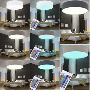 Image Is Loading RGB Led Ceiling Lamps Dining Room Remote Control