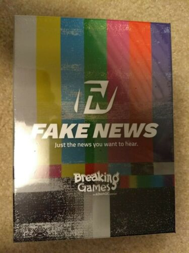 NEW Breaking Games Fake News Card Game