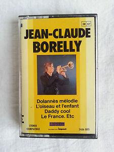 Cassette-K7-Jean-Claude-Borelly
