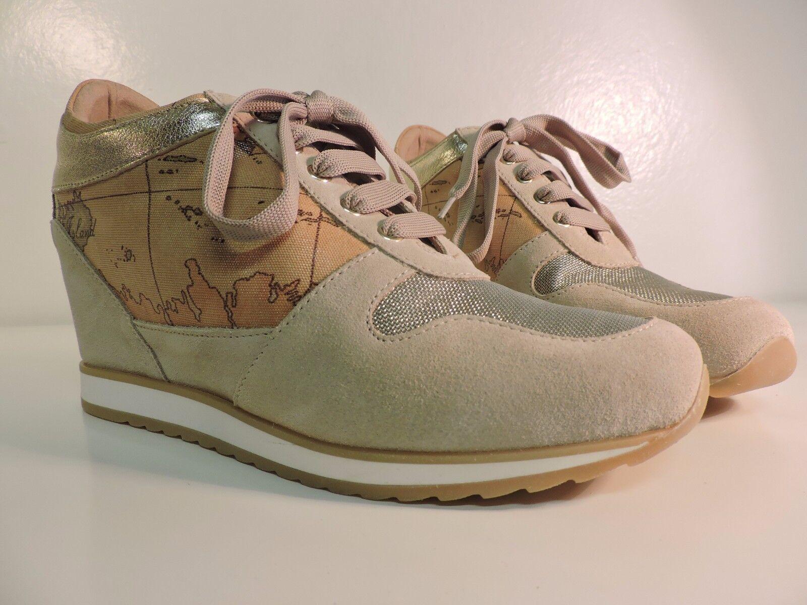 ALVIERO MARTINI 1°CLASSE Zapatos mujer SNEAKERS TAGLIE ZEPPA ALTE Oro VARIE TAGLIE SNEAKERS d26989