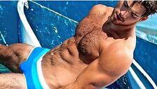 """Para Hombre Muy Elegante Sexy Ropa de Playa Azul Gran 2017 Gay Int #256 34"""" - 36"""""""