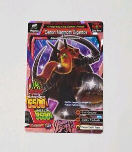 Great-Animal-Kaiser-Ultra-Rare-Demon-Mammoth-Gigantos-VER-4-A-062-US-Seller