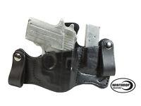 Sauer P238 Laser Iwb Dual Snaps Attached Magazine Holster R/h Black