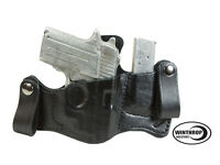 Sauer P238 Laser Iwb Dual Snaps Attached Magazine Holster R/h Black